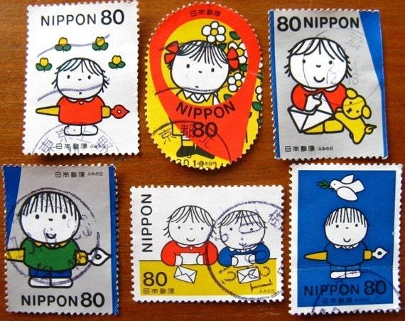 Dick Bruna - postage stamp ephemera