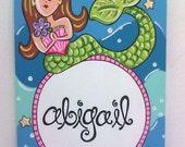 Marvelous Mermaid Personalized Wall Art