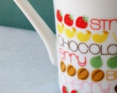 vintage mugs- perfect for hot cocoa