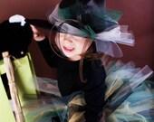 Grubby Witch TUTU custom 1 2 3 4 year girls Halloween tutu