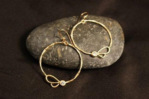 Hoop Earrings, Gold Hoop Earrings