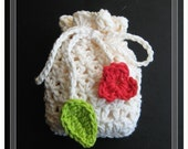 PATTERN crochet soap saver, bag, gift bag, pouch, sachet, purse, snack, bag