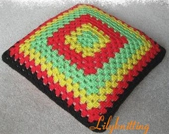 Pattern in PDF -- Crocheted pillow cover (Pillow Cover 1)