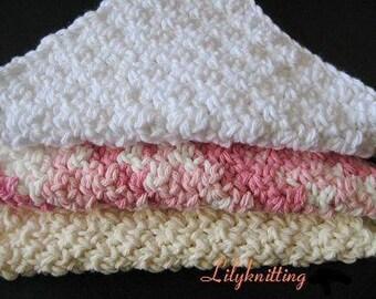 PATTERN  in PDF -- Crochet dishcloth washcloth ragcloth -- Dish cloth 34