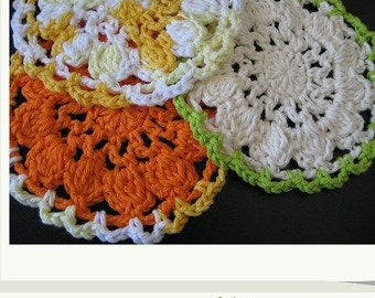Pattern in PDF -- Crocheted dishcloth/washcloth/ragcloth textured dish cloth -- Dishcloth 59