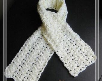 PATTERN in PDF Crocheted Lady Scarf