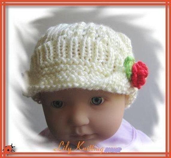 baby beanie pattern | Easy Crochet Patterns & Knitting Patterns