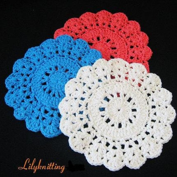 Crochet Circle Pattern Pattern in Pdf Crocheted