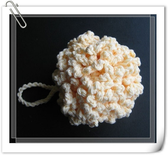 Free Crochet Pattern For Bath Pouf : Pattern crochet bath/shower puff Cluster Free by LilyKnitting