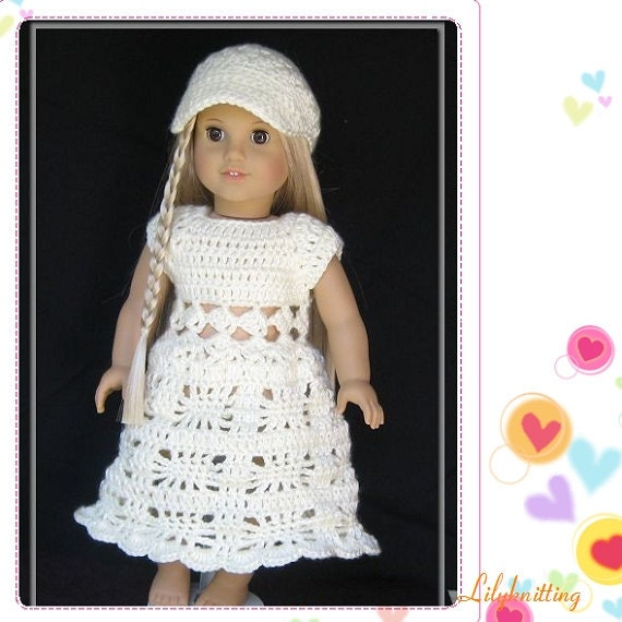 Baby Turtle Amigurumi Pattern : PATTERN in PDF Crocheted doll dress for American by ...