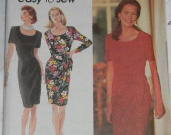 Simplicity Dress Pattern N8417, Uncut Sizes 10 thru 14, Dated 1993