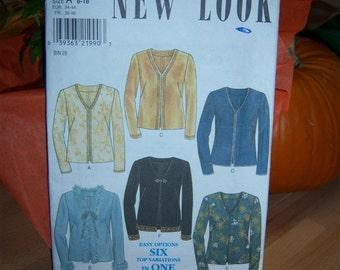 Newlook Blouse Pattern n 6780 Sizes 8 thru 18 Uncut
