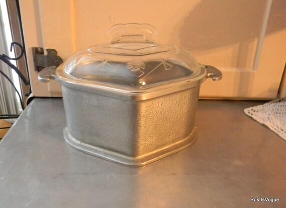 Vintage Guardian Service  Aluminum Pot