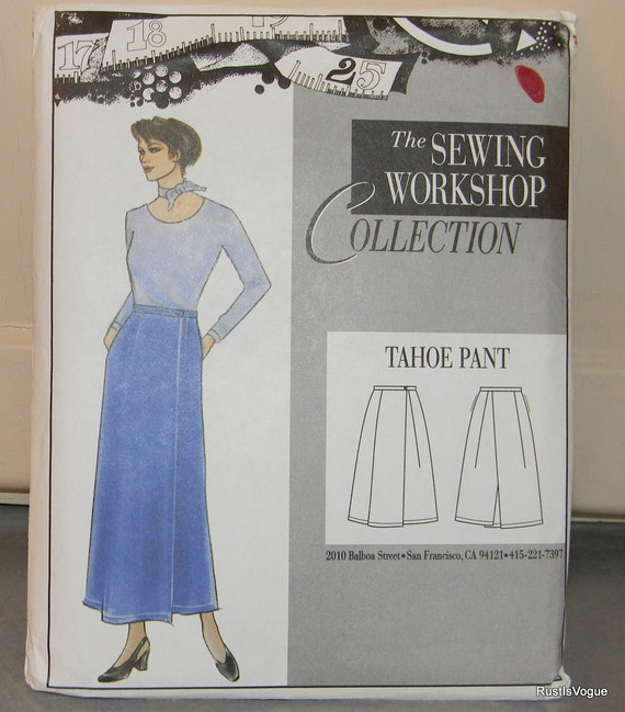 The Sewing Workshop Collection Tahoe Pant