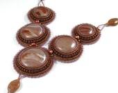 SALE - River Stone Necklace