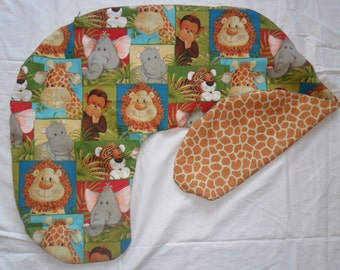 Jungle Babies Nursing Pillow Cover Fit Boppy Two Different Looks