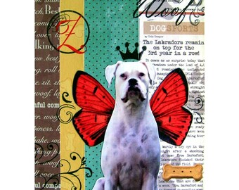 Dogs 2- 11x14 or 12x12 Custom Photo Collages