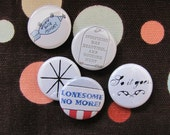 "vonnegut 1"" button set"