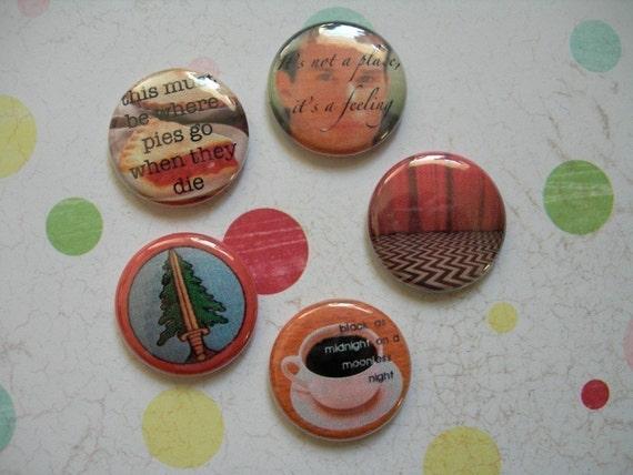 twin peaks pin set
