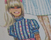 Vintage 1968 Simplicity Dress Pattern 7792 Size 10 Miss