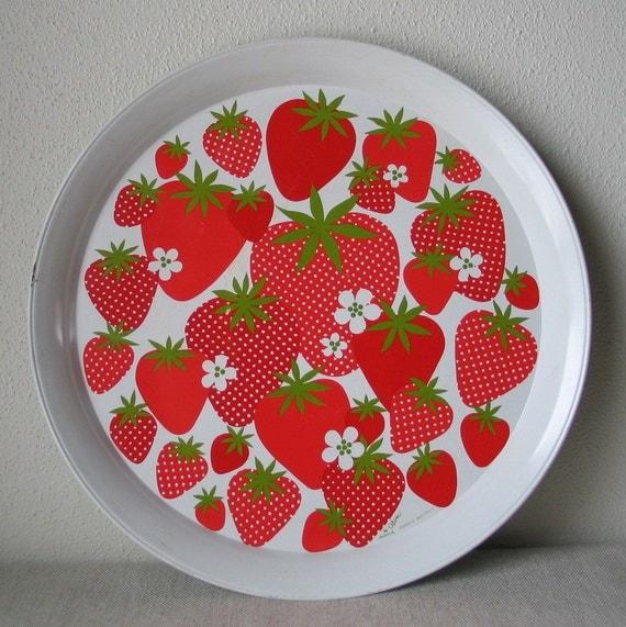 Polka Dot Strawberries Forever
