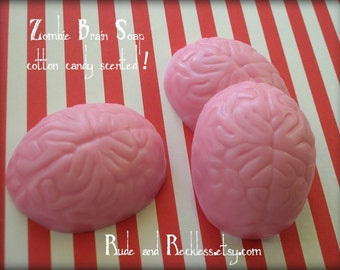 Cotton candy scented zombie soap