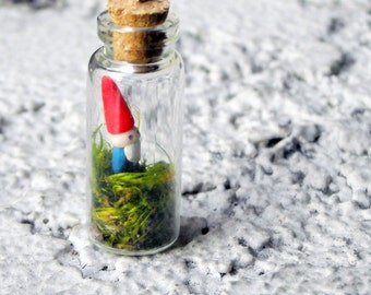 Bottled Gnome necklace