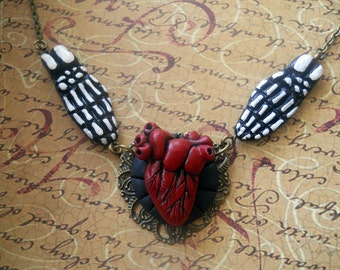 I give you my heart eternal love necklace
