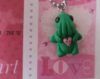 Cthulu baby with heart