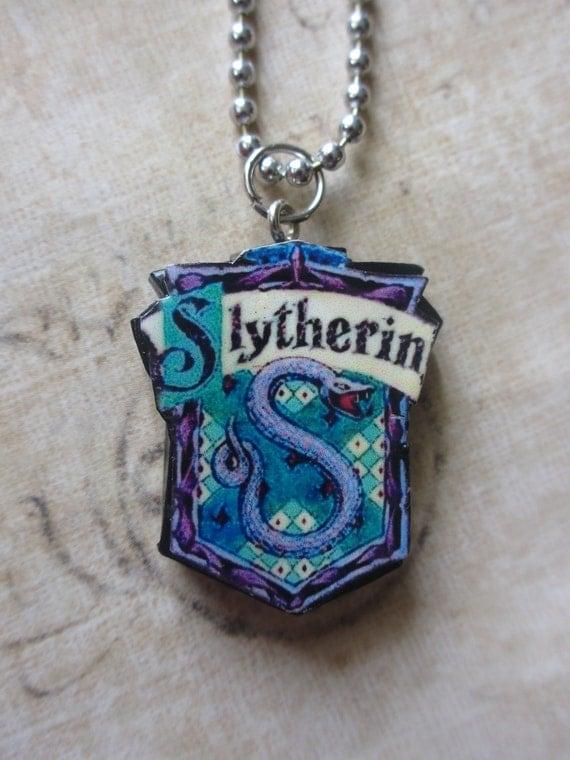 Harry Potter House necklace - Slytherin