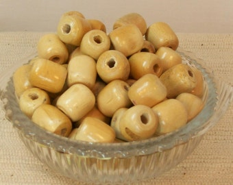 100 Wood Beads 15.88mm - FINISHED