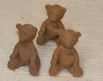Tiny Resin Bears