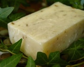 Rosemary Lavender Soap, vegan friendly, 5 to 6 ounce, enriched with castor oil and shea butter