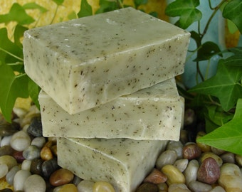 Mojito Soap, vegan friendly, lime and spearmint essential oils, 5 to 6 ounce bar