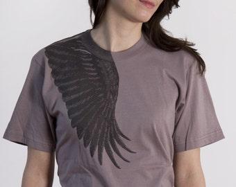 Wing t-shirt Ash (S, M, L, XL)