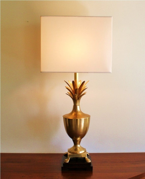 Vintage Brass Pineapple Table Lamp Large By Highstreetmarket