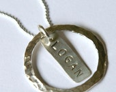 Circle of Love Custom Necklace (1 Name)