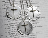 Christ at the Center custom necklace
