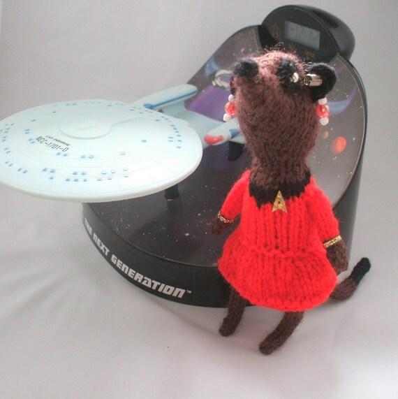 Meerkat Uhura Star Trek Original Series