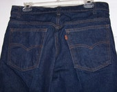 Vintage Levis 509 Jeans 34 inch waist by 30 inch length