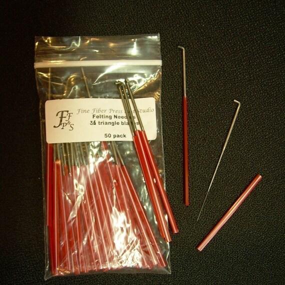 Felting Needles -  size 36 Triangle