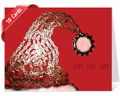 Santa's Hat - 10 Card Bicycle Chain Boxed Set