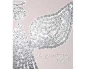 Bike Angel - Bicycle Chain Christmas Card