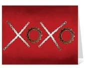 XOXO - Bicycle Chain Greeting Card