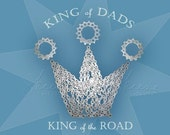 King - Bicycle Chain Father's Day Card