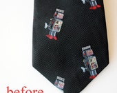 necktie to bow tie conversion