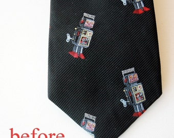 necktie to bow tie conversion