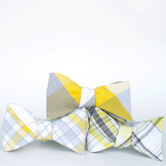 black friday/cyber monday sale-reserved-wedding party bow ties- set of three