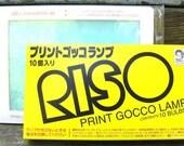 5 Print Gocco Master Screens and 10 Bulbs