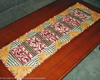 50% OFF Quilted Table Runner - Merry Christmas Was 55.00